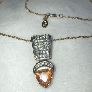Joan River Crystal Necklace